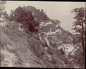 view View of Observatory Hill in Darjeeling showing habitations and other buildings, undated digital asset number 1