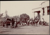 view Lieutenant Governor of Bengal's camel carriages, undated digital asset number 1