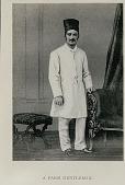 view Print Depicting Parsi Man in Costume digital asset: Print Depicting Parsi Man in Costume