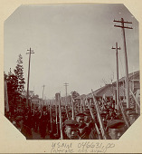 view Sailors with Guns Marching 1904 digital asset number 1