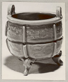 view Incense Burner, Ceramic:Celadon Glaze:at Exhibit Of Korean Art at National Gallery of Art 1957 digital asset number 1