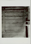 view Animal Motif in Bas-Relief and Mirror Inset on Wall of Pole And Mud House 1965 digital asset number 1