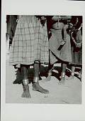 view Three Women in Costume, Two with Young Children, and Displaying Metal Ankle Bracelets 1965 digital asset number 1