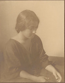 """view Portrait of """"French-Hawaiian"""" girl (profile) 1909 digital asset number 1"""