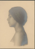 """view Portrait of """"German-Hawaiian"""" girl titled """"The Unknown"""" 1909 digital asset number 1"""