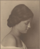 "view Portrait of ""Norwegian-Hawaiian"" girl (Profile) 1909 digital asset number 1"