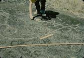 view Woman Near Petroglyphs 1954 digital asset number 1