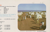 view Group of Tourists in Tent Camp Near Ocean 1968 digital asset number 1