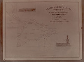 view Map of Easter Island as Corrected by Crew Members of U S S Mohican 1886 digital asset number 1