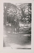 view Two Young Men? in Costume in Jungle Clearing n.d digital asset number 1