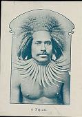 view Portrait of Man Wearing Tusk Necklace n.d digital asset number 1