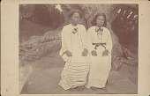 view Woman and Boy in Costume; Both Students at Missionary School n.d digital asset number 1
