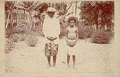 view Two Young Women Students Wearing Non-Native Costume n.d digital asset number 1