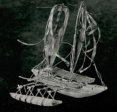 view Model New Guinea outrigger canoe n.d digital asset number 1