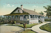 view U S Army Officer's Large Frame House with Porch n.d digital asset number 1