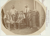 view Portrait of Four Men and Boy in Costume and with Turbans 14 AUG 1890 digital asset number 1
