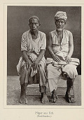 view Portrait of Two Pilgrims from Edi in Costume, One with Fez, Other with Turban n.d digital asset number 1