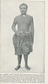 view Portrait of Man from Samoa in Costume and with Ornaments and In Midway Plaisance 1894 digital asset number 1
