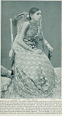 view Portrait of Ghoms Mariame (Woman) in Costume and with Ornaments at Midway Plaisance 1893 digital asset number 1