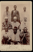view Group of Men of Mandingo Tribe, About 80 Miles East From Monrovia 1893 digital asset number 1