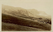 view View of Village Showing Round Mud Houses with Thatch Roofs In Mountains n.d digital asset number 1
