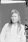 view Chief Joseph in Partial Native Dress with Ornaments 1903 digital asset number 1