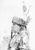view Na-wat-ena in Native Dress with Ornaments and Headdress n.d digital asset number 1