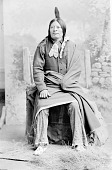 view High Hawk in Partial Native Dress 1891 digital asset number 1