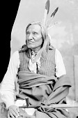 view Little Wound in Partial Native Dress with Peace Medal and Holding Pipe 1891 digital asset number 1