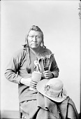 view Captain Jim in Partial Native Dress 1880 digital asset number 1