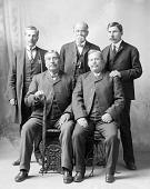 view Five Delaware Men, Richard C. Adams Identified n.d digital asset number 1