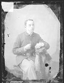 view Portrait of Non-Native Man in National Guard Uniform 1879 digital asset number 1