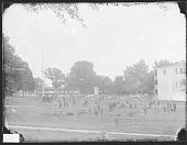 view Group of Students in School Uniform on Lawn Outside School Buildings 1879 digital asset number 1