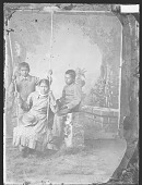 view Portrait of Ben Thomas, Mary Perry, and John Menaul in School Uniform 1879 digital asset number 1