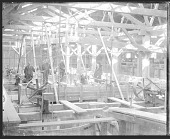 view Five Non-Native Men Inside Brick Making Factory 1879 digital asset number 1