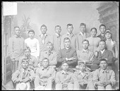 view Arapaho Students; Most in School Uniform 1879 digital asset number 1