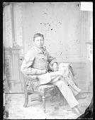 view Portrait of Ernest White Thunder 1879 digital asset number 1