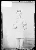 view Portrait of F. Conroy, Male Student in School Uniform 1879 digital asset number 1