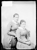 view Portrait of Ella Rickert and Mary Wilkinson, Students 1879 digital asset number 1