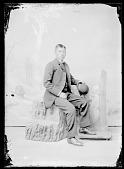 view Portrait of Reuben ?, Male Student in School Uniform 1903 digital asset number 1