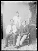 view Portrait of Three Male Students 1879 digital asset number 1