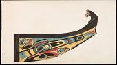 view Kwakiutl dugout canoe and Haida dugout canoe digital asset: Kwakiutl dugout canoe and Haida dugout canoe
