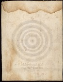 view Petroglyph of Five Concentric Circles Located Near Top of Rock and Facing East Tracing digital asset: Petroglyph of Five Concentric Circles Located Near Top of Rock and Facing East Tracing