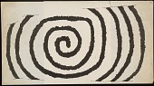 view Petroglyph in Spiral Motif, from Loose Building Stone Tracing digital asset: Petroglyph in Spiral Motif, from Loose Building Stone Tracing
