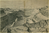 """view """"View of Grand Canyon of the Colorado River from Ft. of To-Ro-Weap Valley, Sketched November 1872"""" Drawing digital asset: """"View of Grand Canyon of the Colorado River from Ft. of To-Ro-Weap Valley, Sketched November 1872"""" Drawing"""