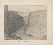 view View in Marble Canyon Drawing digital asset: View in Marble Canyon Drawing