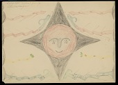 view Morning Star (Sho-Ba Wangho) Surrounded by Clouds, Thunderbolts, the Devil, Flower Producing Thunderbolts, Snakes Drawing digital asset: Morning Star (Sho-Ba Wangho) Surrounded by Clouds, Thunderbolts, the Devil, Flower Producing Thunderbolts, Snakes Drawing