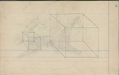 view Anonymous drawing of geometric figures digital asset: Anonymous drawing of geometric figures