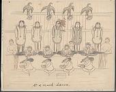 view At a Mask-Dance Drawing digital asset: At a Mask-Dance Drawing