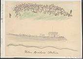 view Teller Reindeer Station Drawing digital asset: Teller Reindeer Station Drawing